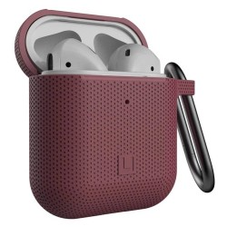 Зашитен калъф Urban Armor Soft Touch U Silicone Case за Apple Airpods / Apple Airpods 2, лилав