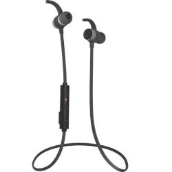 Слушалки Audictus Endorphine Black ABE-0884, безжични, микрофон, Bluetooth 4.1, до 5 часа време на работа, IPX4 водоустойчиви, черни