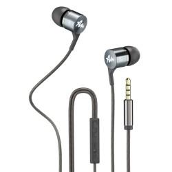 Слушалки Audictus Explorer 2.0 Grey AWE-1503, микрофон, AUX, сиви
