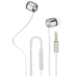 Слушалки Audictus Explorer 2.0 White AWE-1504, микрофон, AUX, бели