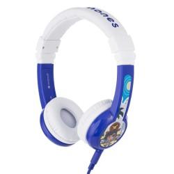 Слушалки BuddyPhones Explore 41122, AUX, детски, 32 ома, 85 dB, сини
