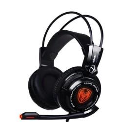 Слушалки Somic G941, микрофон, гейминг, 40мм говорители. виртуален 7.1 съраунд, вибрация, 2.0m, USB, черни