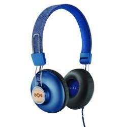 Слушалки House of Marley Positive Vibration 2 (EM-JH121-DN), микрофон, 3.5mm, сини