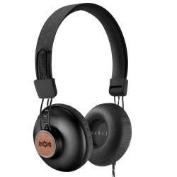 Слушалки House of Marley Positive Vibration 2 (EM-JH121-SB), микрофон, 3.5mm, черни