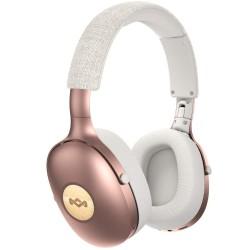Слушалки House of Marley Positive Vibration XL (EM-JH151-CP), безжични, микрофон, Bluetooth, AUX, активна шумоизолация, розови