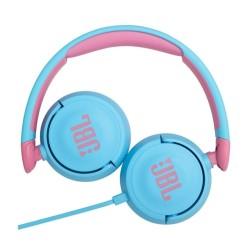 Слуашлки JBL Jr310, микрофон, AUX, сини