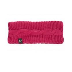 Слушалки KitSound Bow Headband, 40mm говорители, 3.5mm jack, 103dB, розови