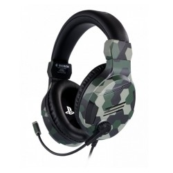 Слушалки Nacon Bigben PS4 Official Headset V3, гейминг, микрофон, за PS4, Камуфлаж