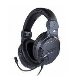 Слушалки Nacon Bigben PS4 Official Headset V3, гейминг, микрофон, за PS4, сив