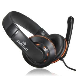 Слушалки Ovleng OV-Q5, микрофон, USB, черни