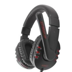 Слушалки Somic G923-BK, микрофон, гейминг, 40мм високоговорители, 15Hz - 25KHz честотен диапазон, 3.5mm jack, черни