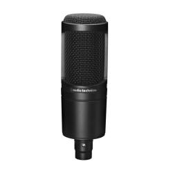 Микрофон Audio-Technica AT2020, кондензаторен, кардиоиден, 20 Hz - 20000 Hz, 3-pin XLRM, черен