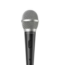 Микрофон Audio-Technica ATR1500x, вокален динамичен еднопосочен, 60–15,000 Hz, 500 ohms, XLR конектор, черен
