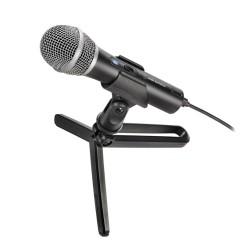 Микрофон Audio-Technica ATR2100x-USB, динамичен кардиоиден, 50–15,000 Hz, USB Type C/XLR конектори, черен