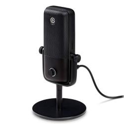 Микрофон Elgato Wave 1, предназначен за гейминг и стрийминг, 70 Hz - 20 kHz, USB, AUX, 2.5m кабел, черен
