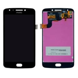 Дисплей за Motorola Moto E4, LCD, с тъч, черен