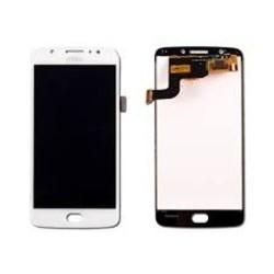 Дисплей за Motorola Moto E4, LCD original, с тъч, бял