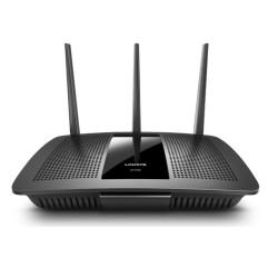Рутер Linksys EA7300, 1750Mbps, 2.4GHz (300 Mbps)/ 5GHz (1404 Mbps), Wireless AC, 4x LAN1000Mbps, 1x WAN1000, 1x USB 3.0, 3x външни антени