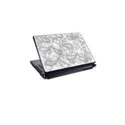 Декорация /скин/ Fullmark LS0022, за лаптопи до 26.7 x 39.37cm, бяло-сив