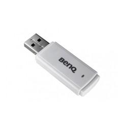 Безжичен адаптер за проектор BenQ WDS01, IEEE 802.11b/g/n, бял