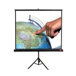 Екран Avtek Tripod Standard 200, преносим сгъваем трипод, Matt White, 200х200см, 111