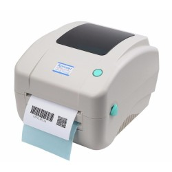 Баркод принтер Xprinter XP-DT425B, 8 dots/mm(203DPI), 4MB SD SLot up to 4GB, ширина етикет 108 mm