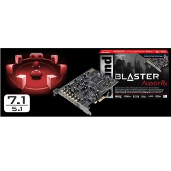 Звукова карта Creative Sound Blaster Audigy RX, 7.1, PCI-E, optical out (TOSLINK)