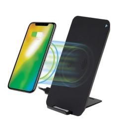 Безжично зарядно устройство 4smarts Inductive Fast Charger VoltBeam Evo, от USB C(ж) към безжично зареждане, 5V/2A, черен