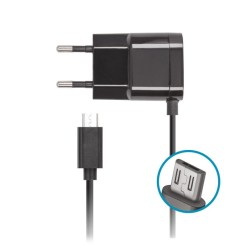 Зарядно устройствo Forever IT5962, от контакт към microUSB, 5V/1A, черно