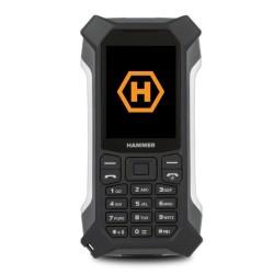 GSM myPhone Hammer Patriot (черен), поддържа 2 sim карти, 2.4