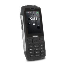 GSM MyPhone Hammer 4 (черен/сив), поддържа 2 sim карти, 2.8