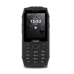 GSM myPhone Hammer 4 (черен), поддържа 2 sim карти, 2.8