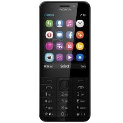 GSM NOKIA 230 (сребрист), поддържа 2 sim карти, 2.8
