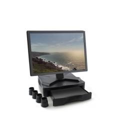 Стойка за монитор Ewent EW1280, за маса, чекмедже, до 27кг, черен