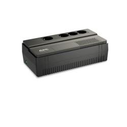 UPS APC Back-UPS BV 800VA AVR Schuko Outlet, 800VA/450W, аларма при нисък заряд