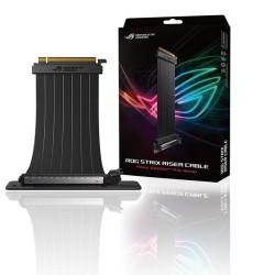 Универсален брекет и кабел Asus ROG Strix RS200, PCIe, за вертикален монтаж на видео карта